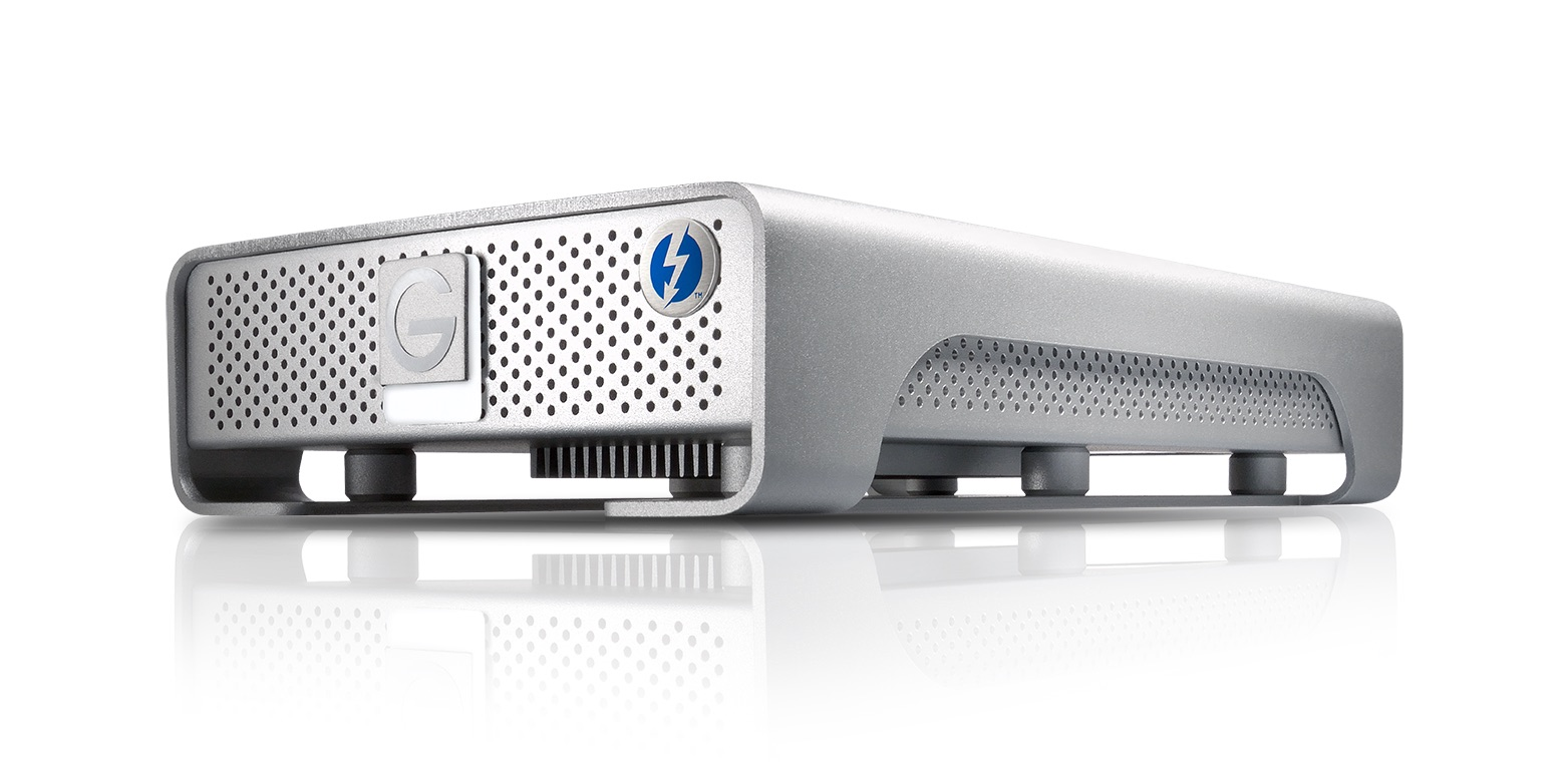 G-DRIVE with Thunderbolt Front View