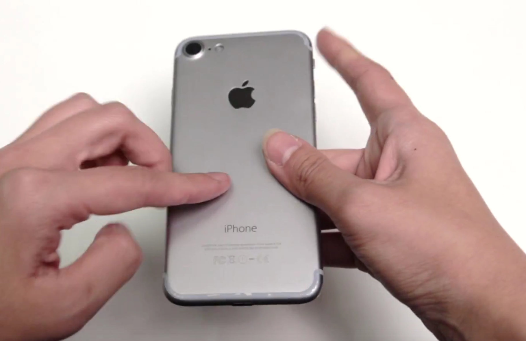 Video gives up-close look at $150 iPhone 7 mockups now