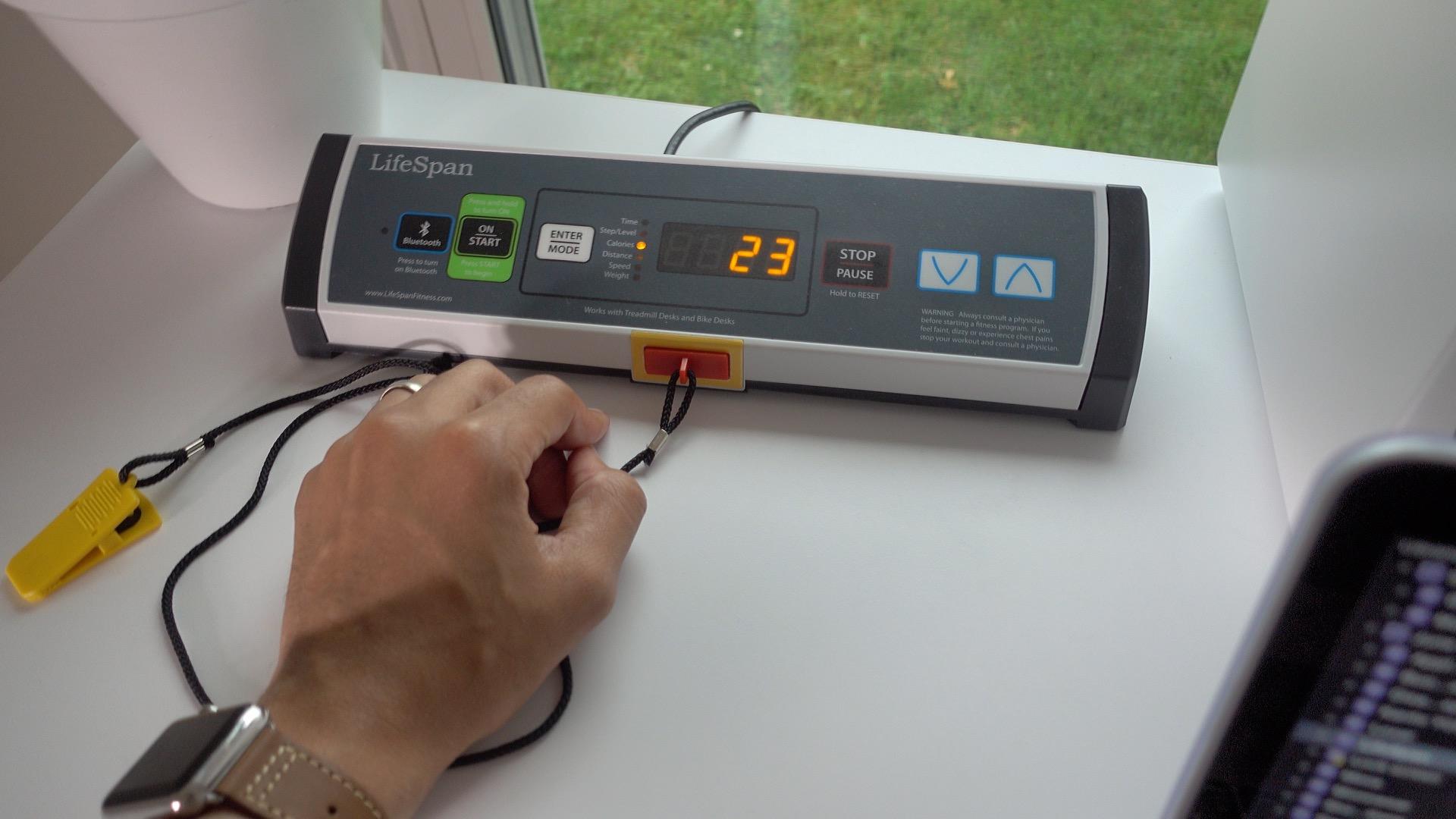 UnderDesk Treadmill LifeSpan Console