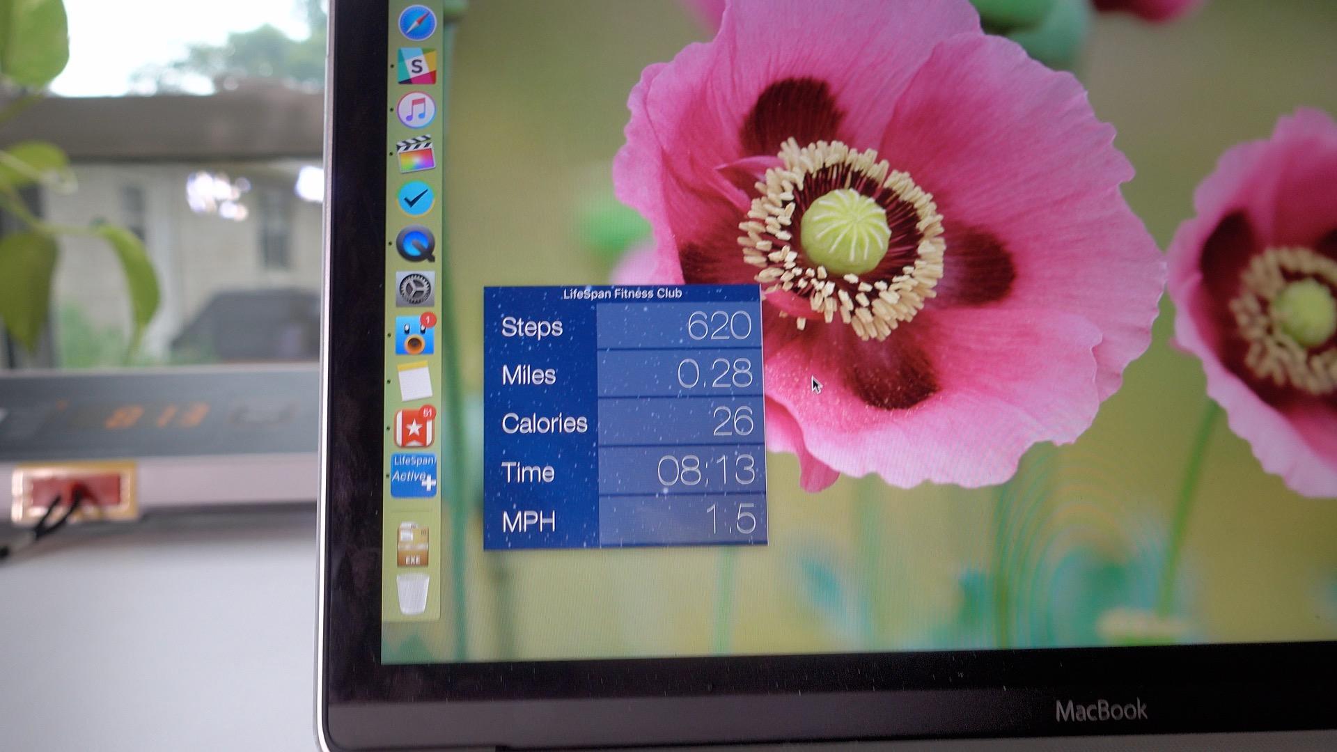 UnderDesk Treadmill LifeSpan Mac App