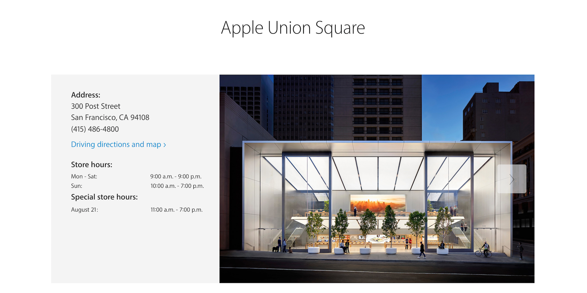Apple-Union-Square