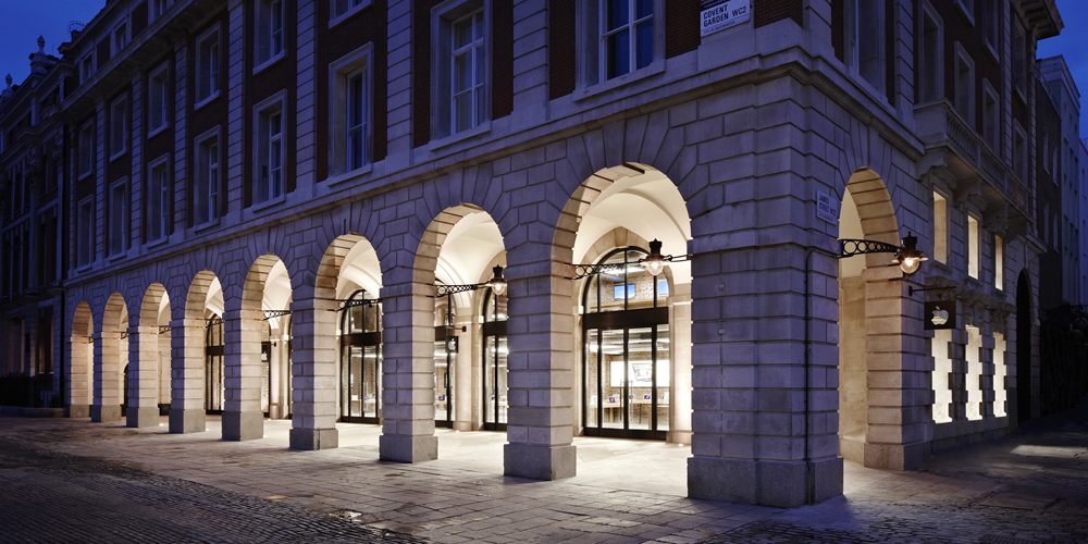 Apple Store in London's Covent Garden