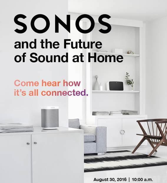 Sonos NYC event