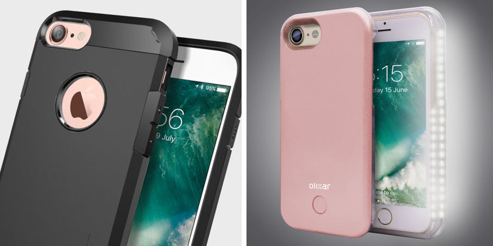 buy online d228e 9c167 Spigen & Olixar iPhone 7 cases available now for pre-order as other ...