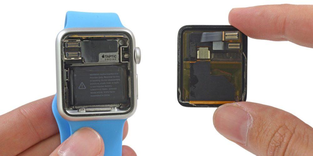 Apple Watch battery iFixit