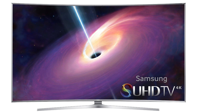 Samsung UN55JS9000 Curved 55-Inch 4K Ultra HD 3D Smart LED TV (2015 Model)