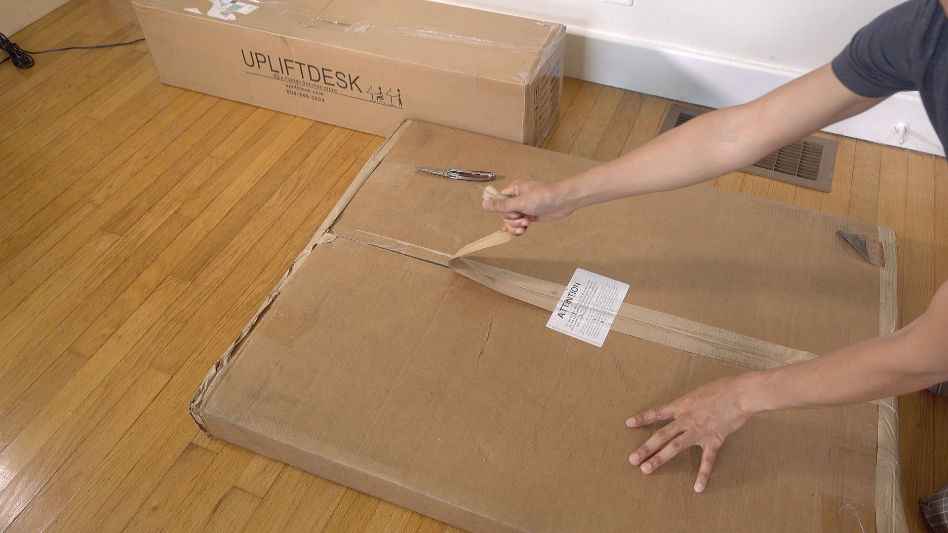 Uplift Desk Unboxing