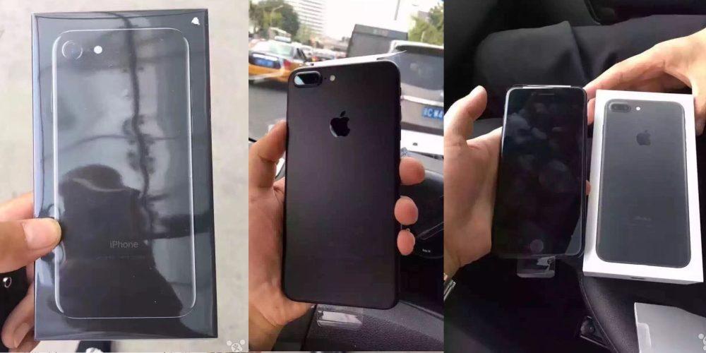 iPhone 7 Plus unboxed