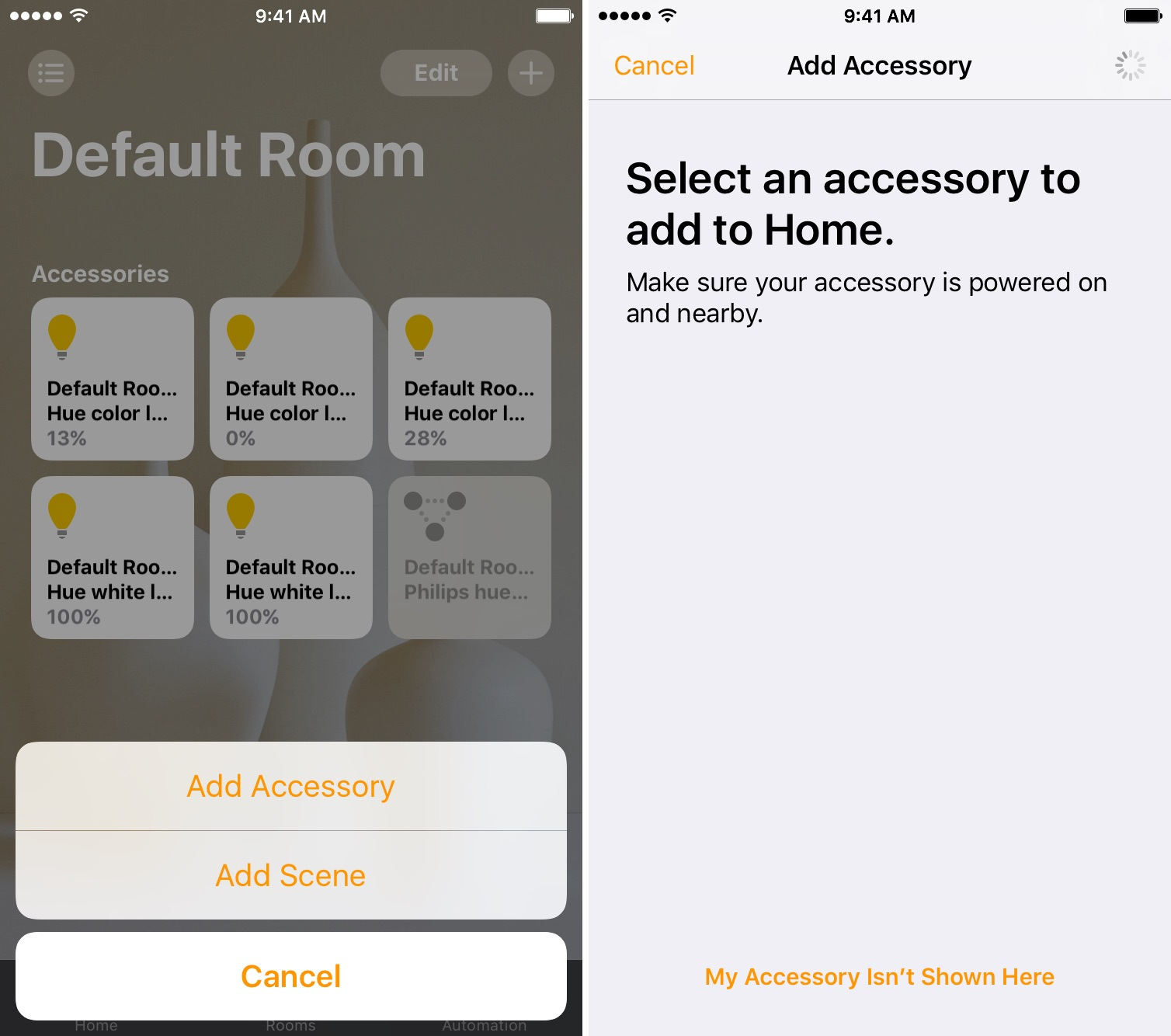 ios-10-adding-accessory-to-room