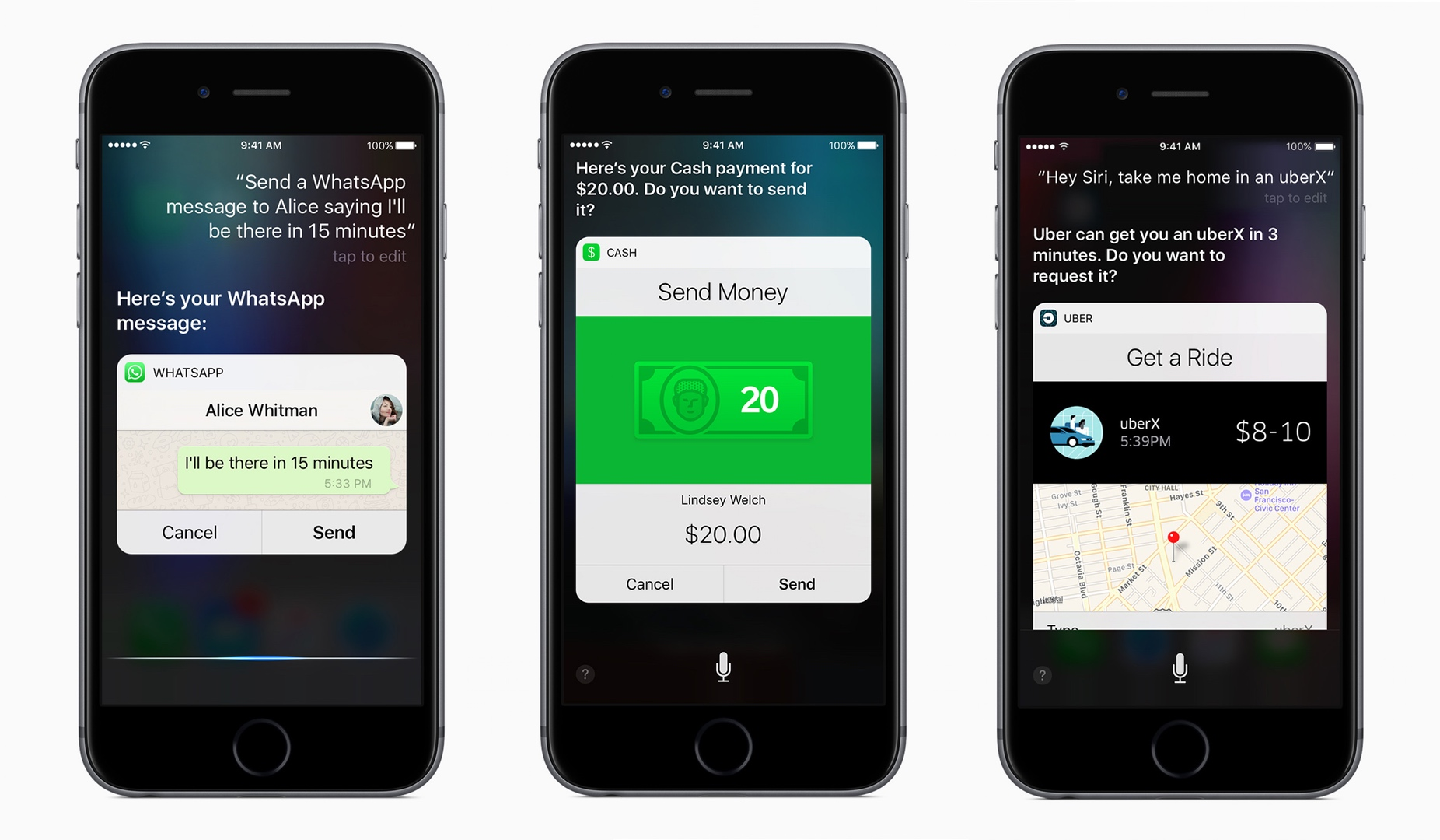siri ios Everything new in iOS 10 New