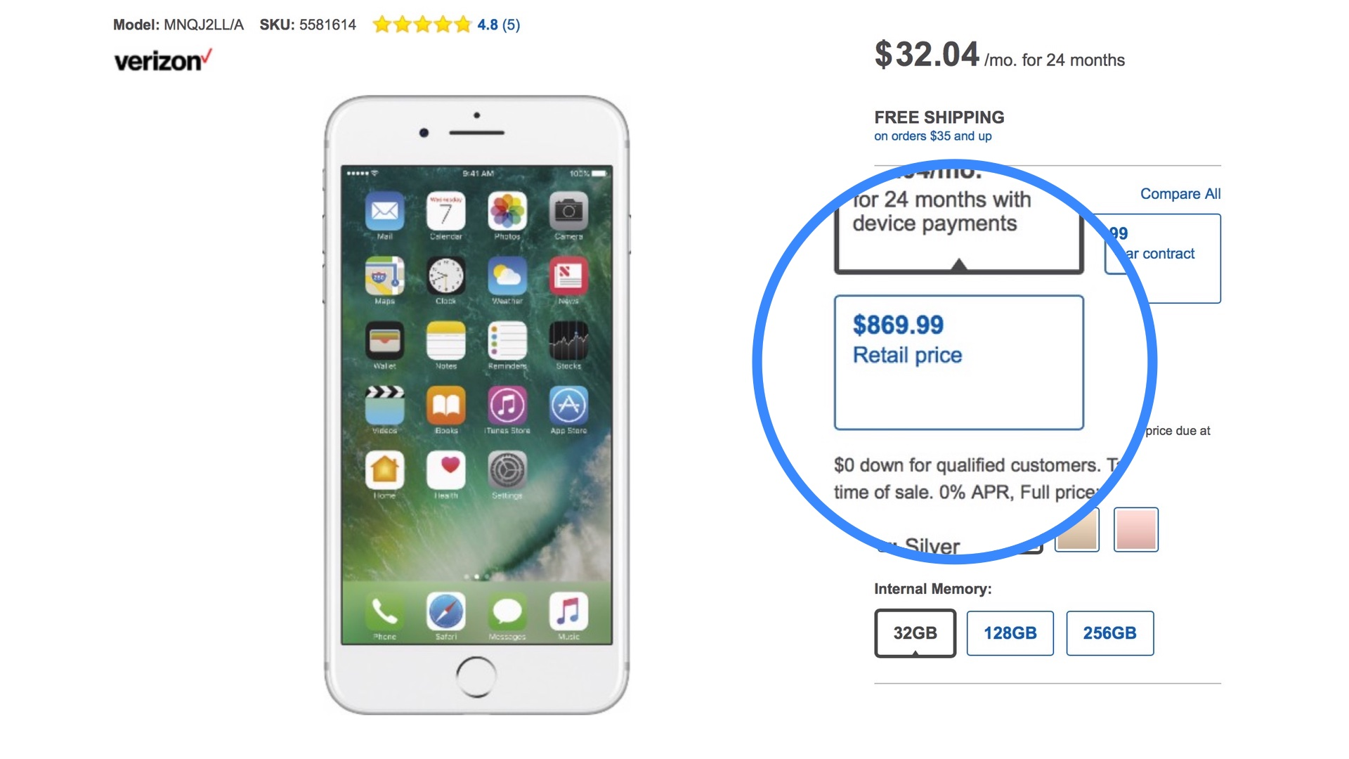 Psa Careful Out There Best Buy Is Charging 50 To 100 Over Full Msrp For The Iphone 7 9to5mac