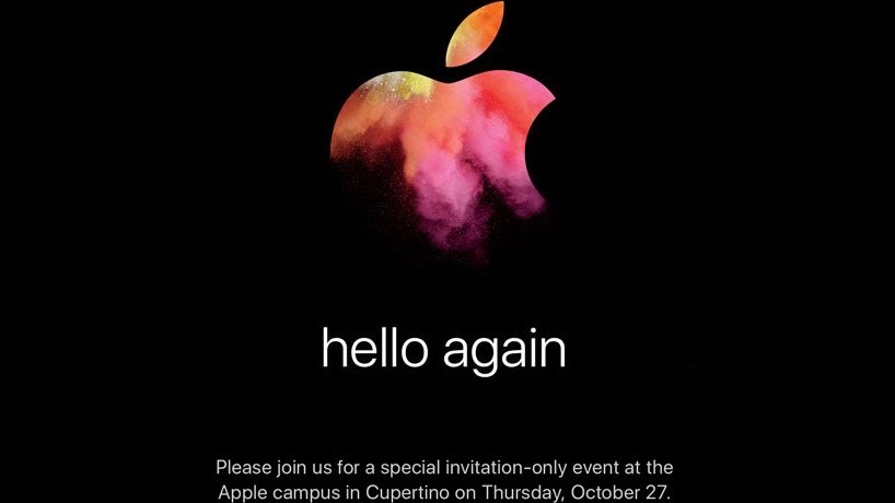 Apple October 2016 event