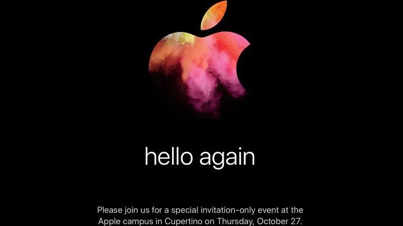 Apple October 2016 event