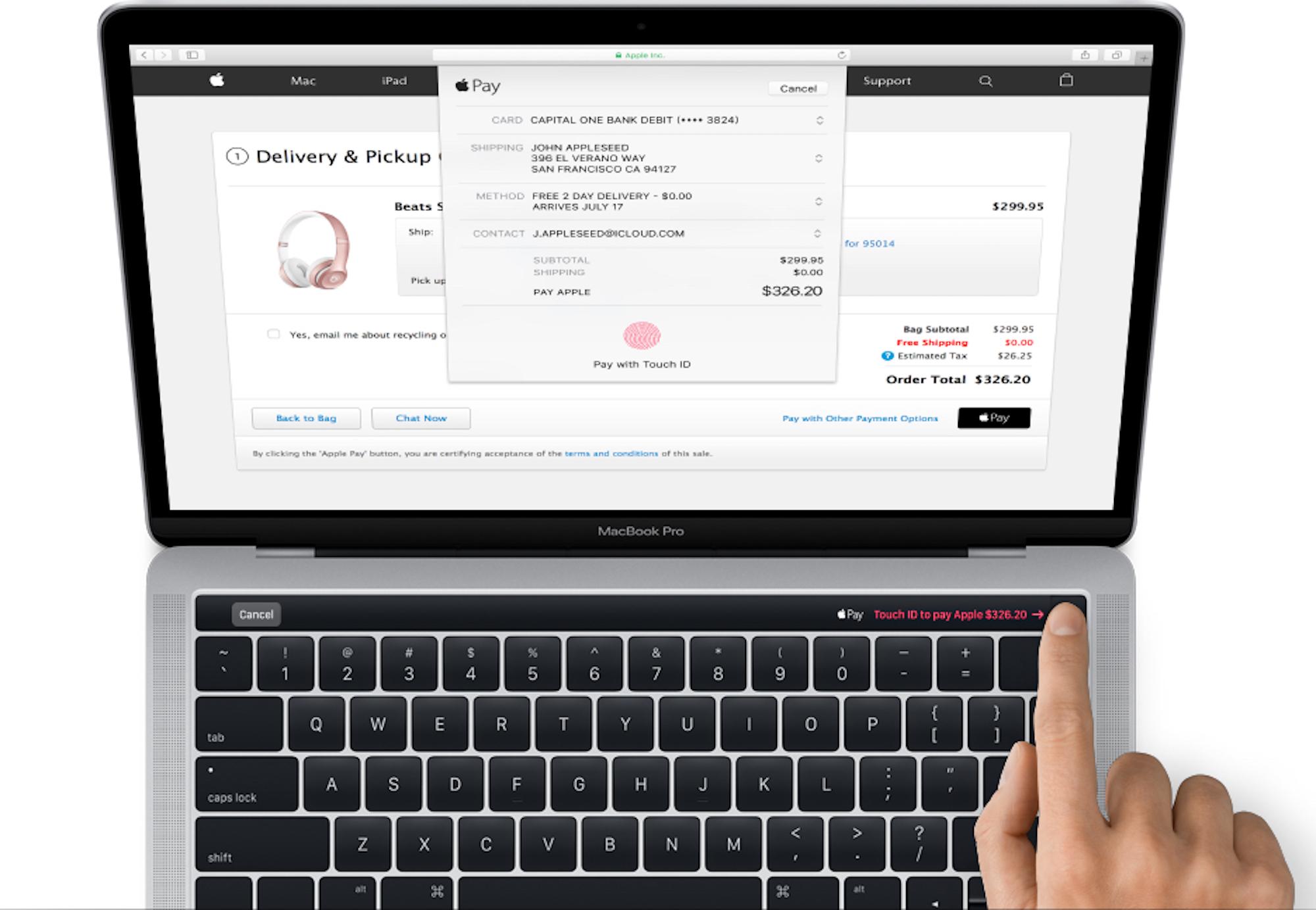Apple-MacBook-Pro-Magic-toolbar-2016