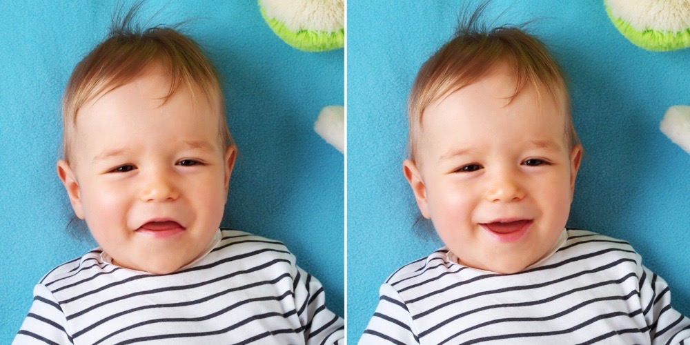 Adobe Photoshop Elements 15 lets you adjust facial expressions