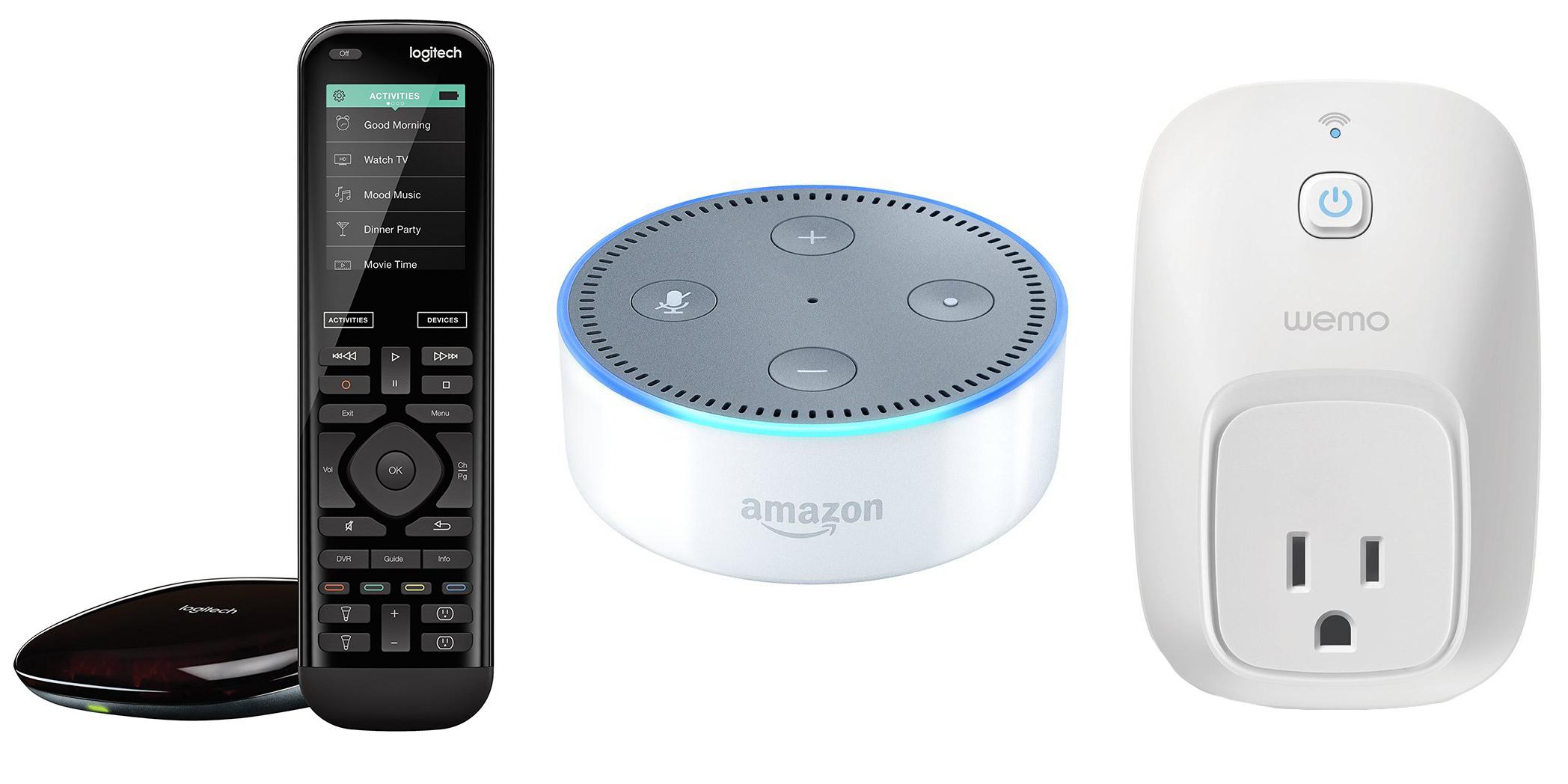 amazon-echo-dot-logitech-wemo-bundles