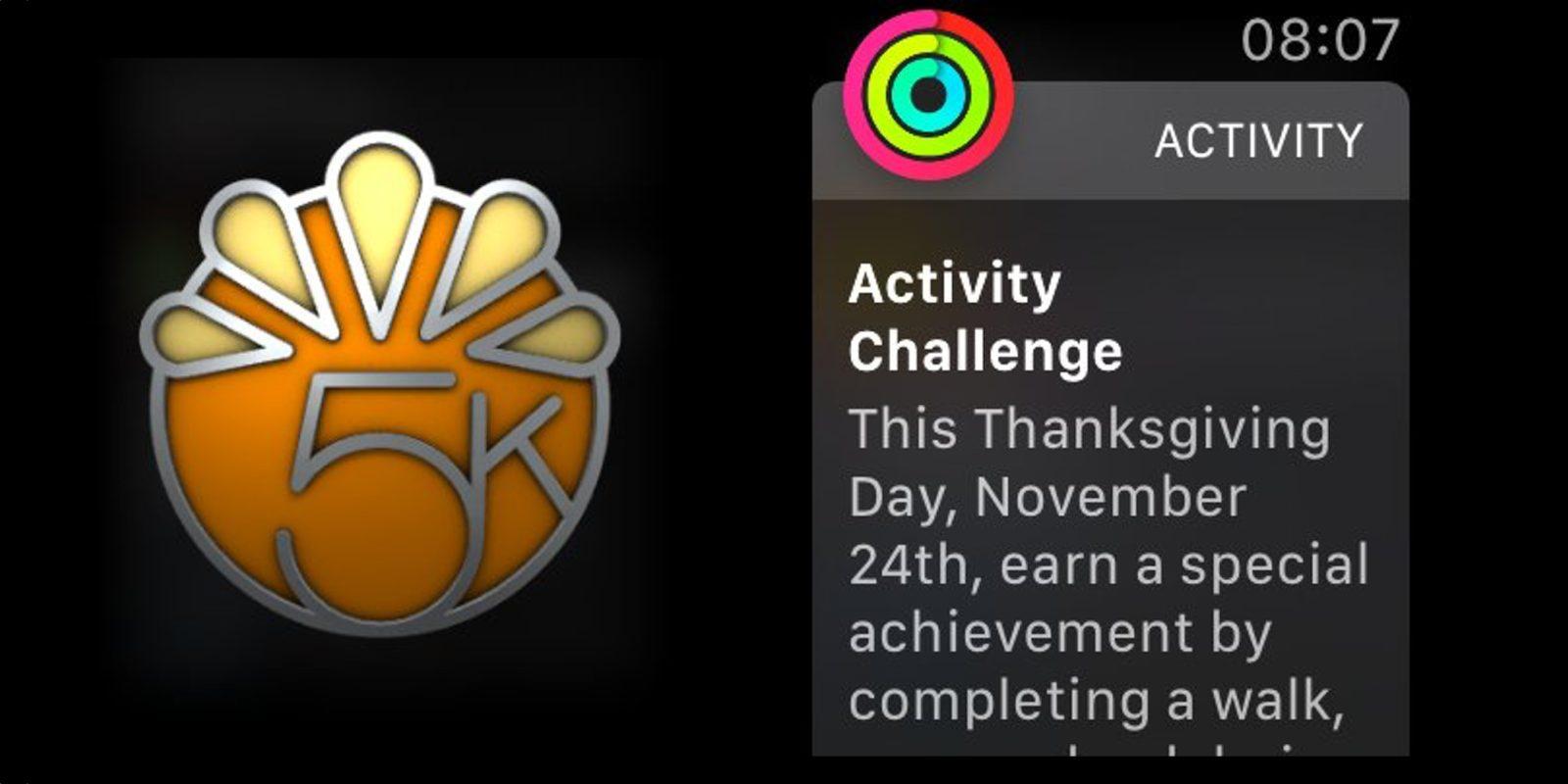 Apple Watch Has A Special Thanksgiving Activity Achievement Run