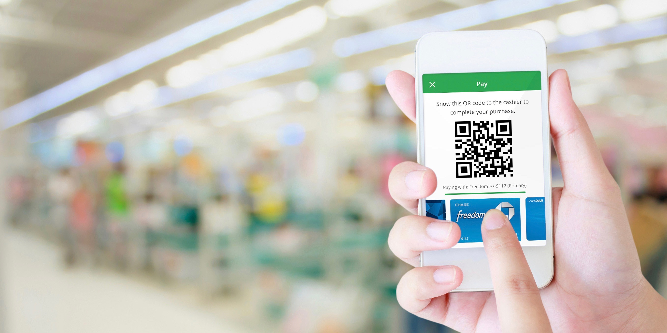 Chase Pay QR code-based payment service launches through bank's new
