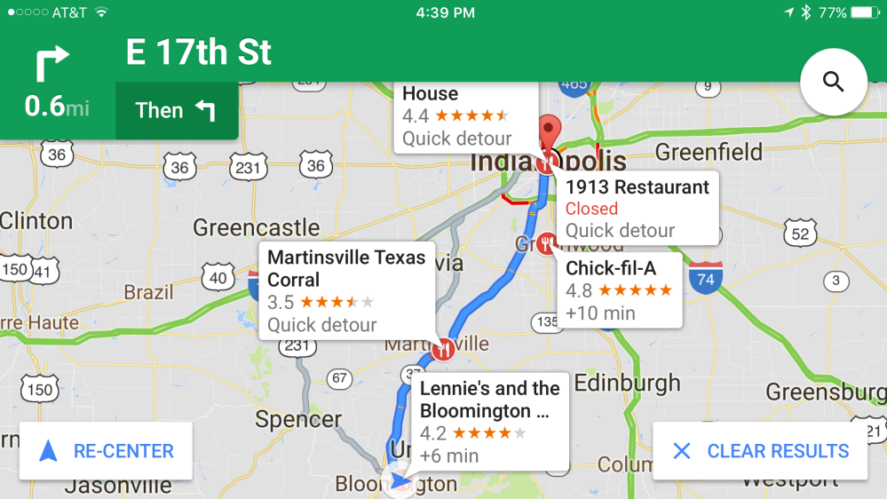 Google Maps For Ios Updated W Nearby Traffic Widget Ability To