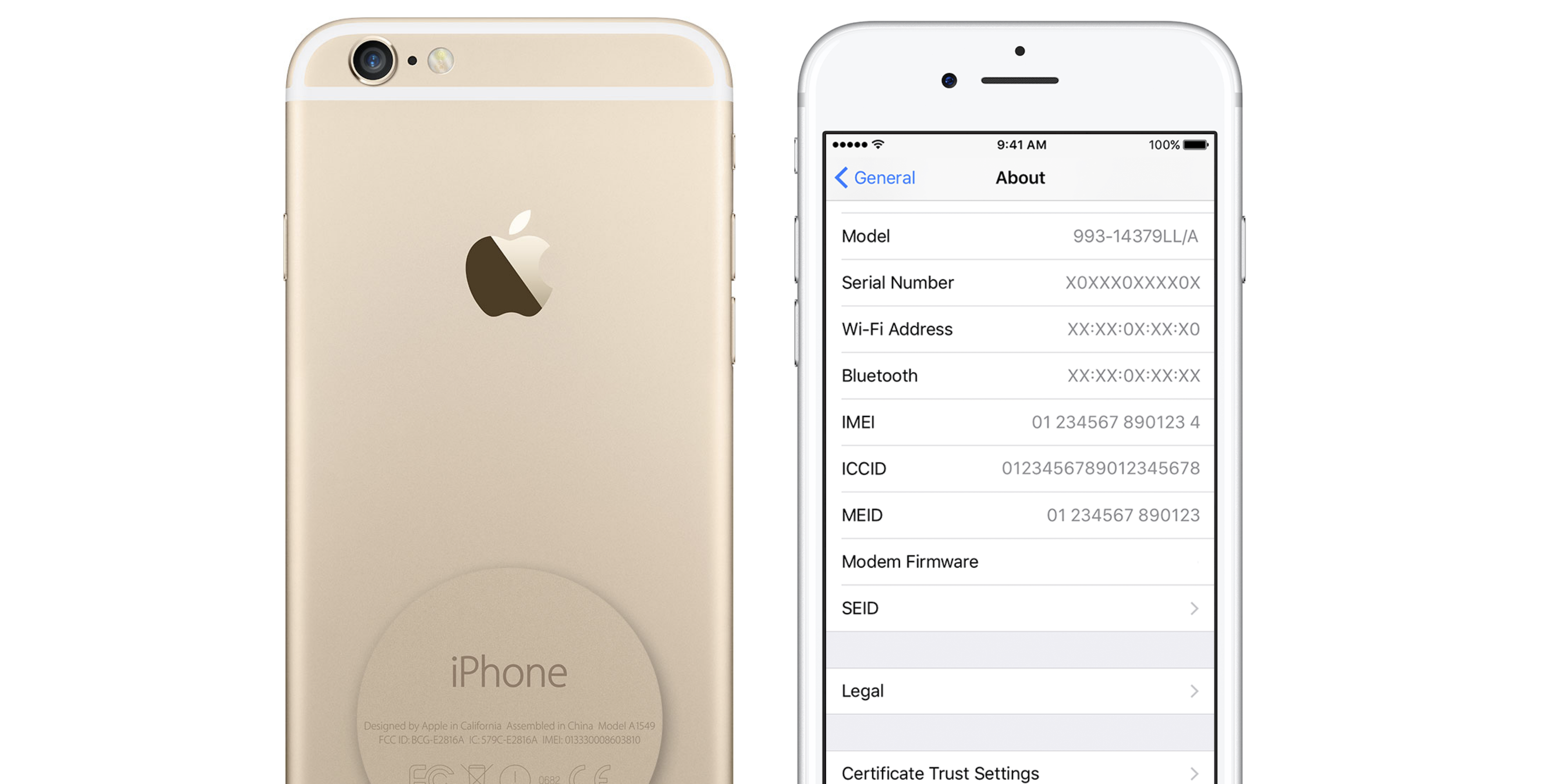 check your iphone serial number online