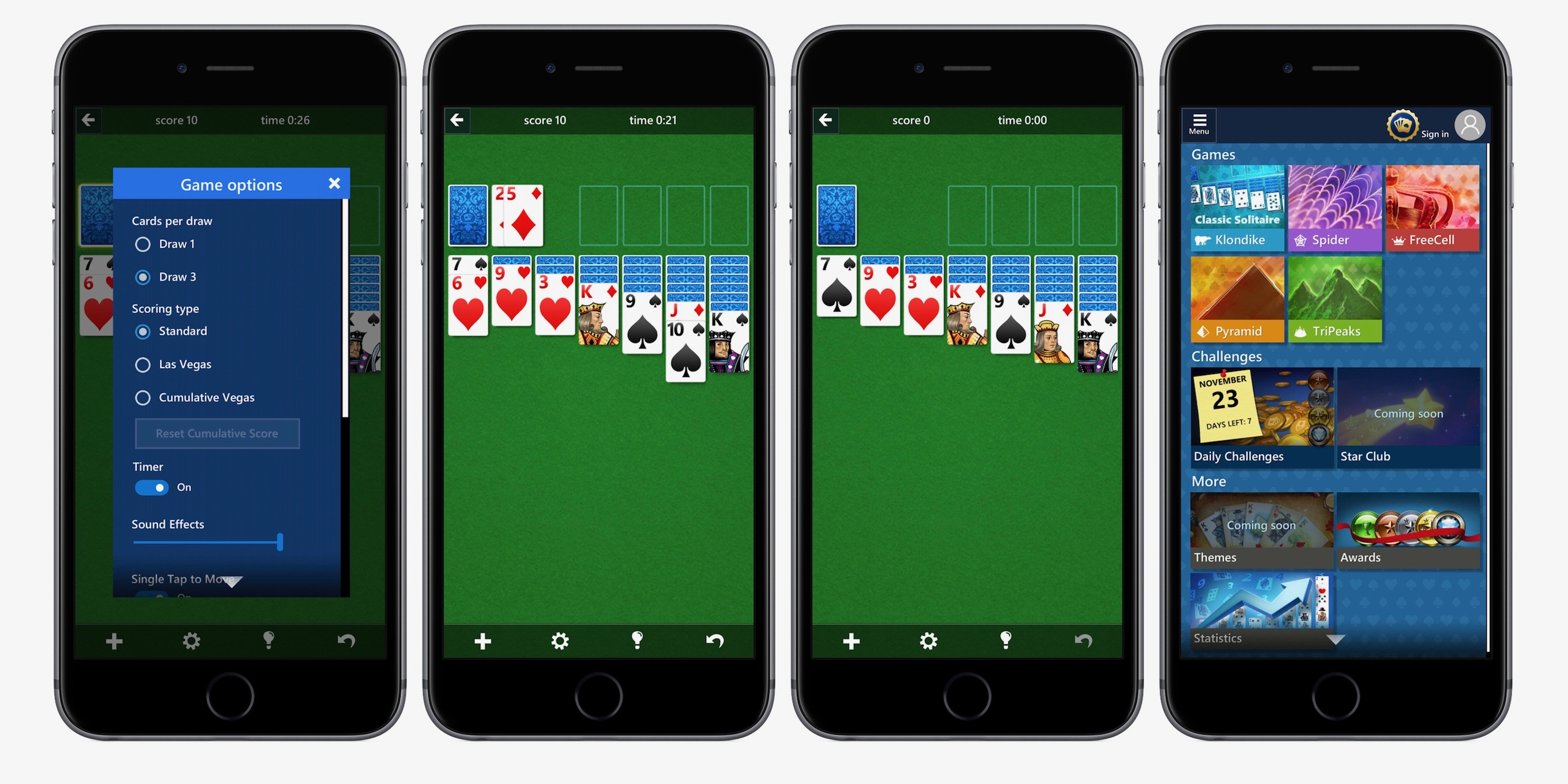 Microsoft Solitaire iPhone