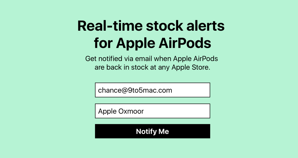 airpods-stock-tracker
