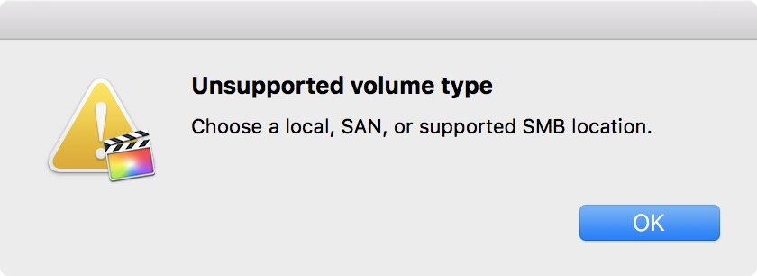 final-cut-pro-x-unsupported-volume-type