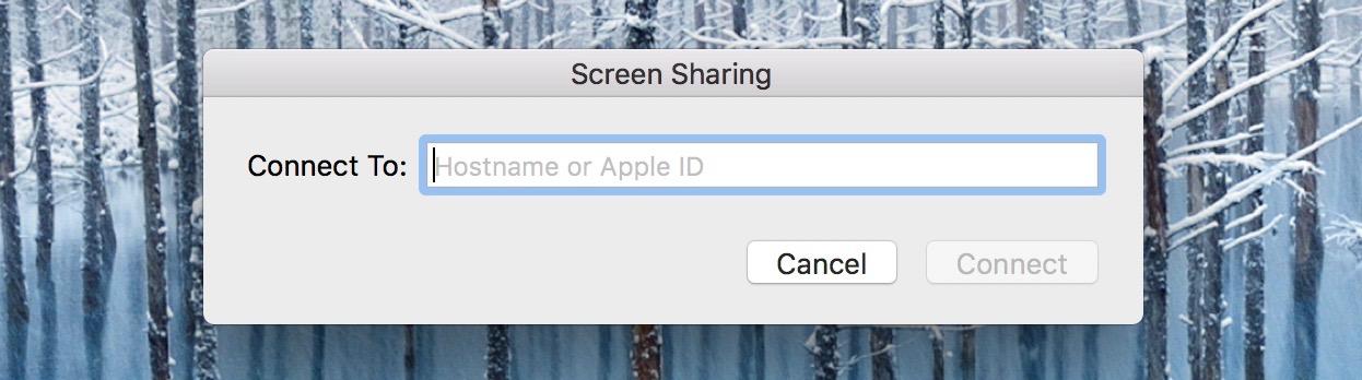 screen share iPhone iPad Mac