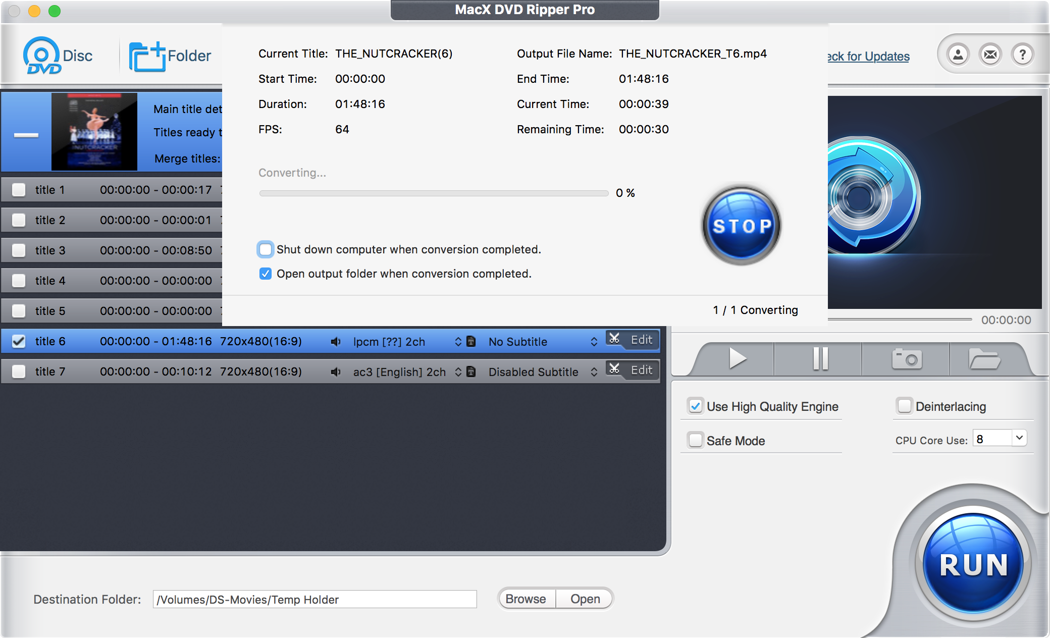 Limited Time Giveaway: MacX DVD Ripper Pro and MacX