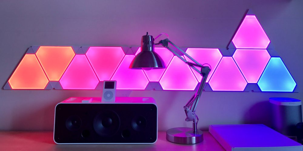 new concept e5059 01022 Review: Nanoleaf's Aurora smart lighting panels match ...