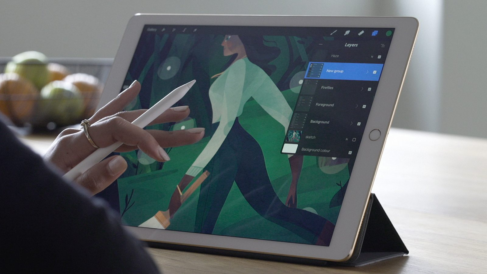 Massive Procreate for iPad update available with QuickShape