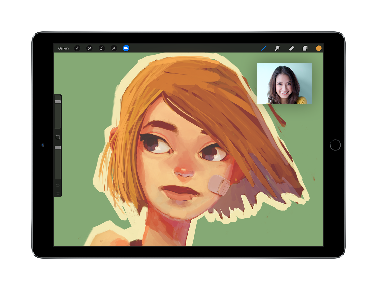Procreate for iPad adds Photoshop PSD import, screen capture