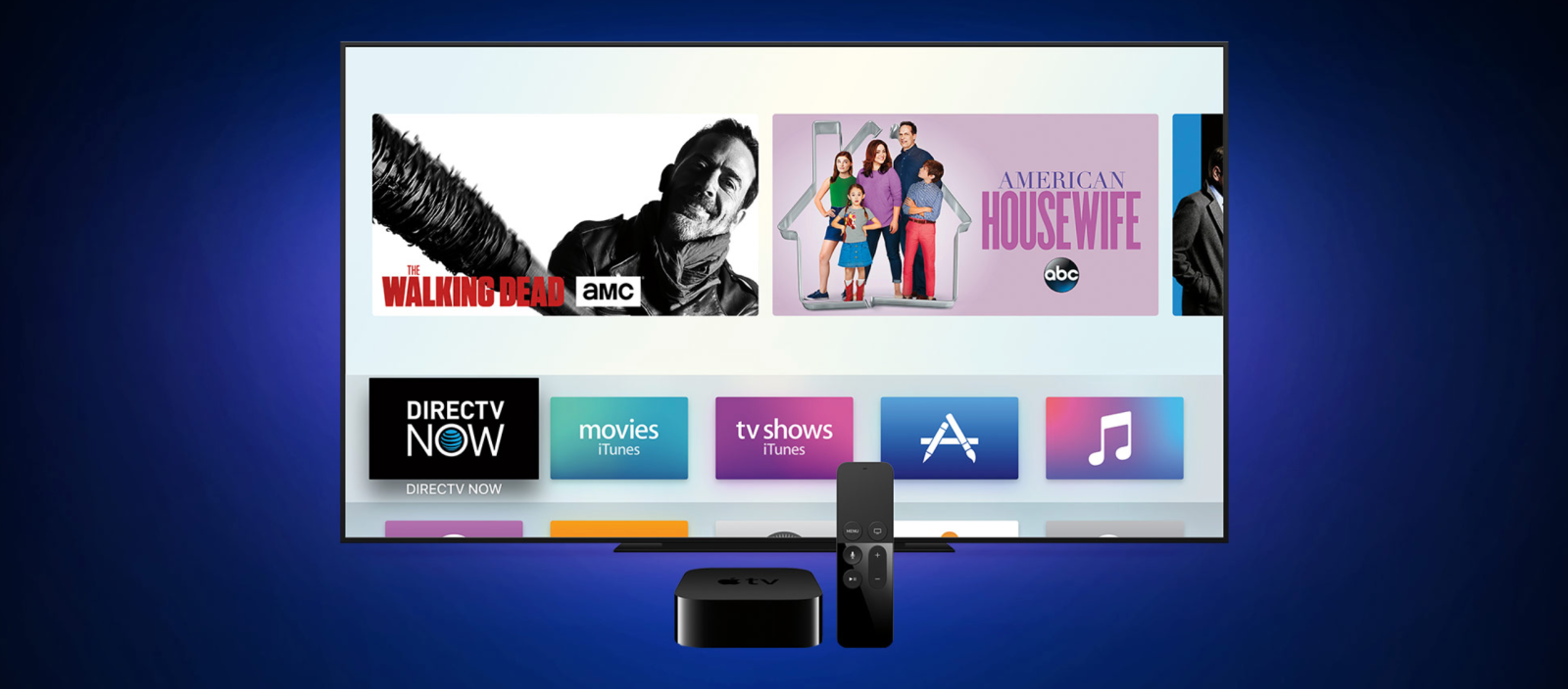 how to download directv now app on apple tv