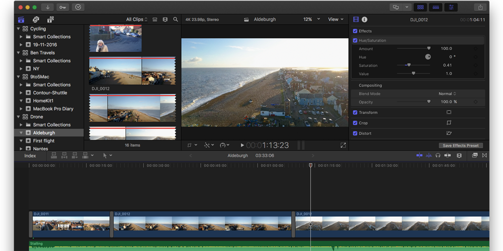Final Cut Pro Diary: A video novice takes the step up from