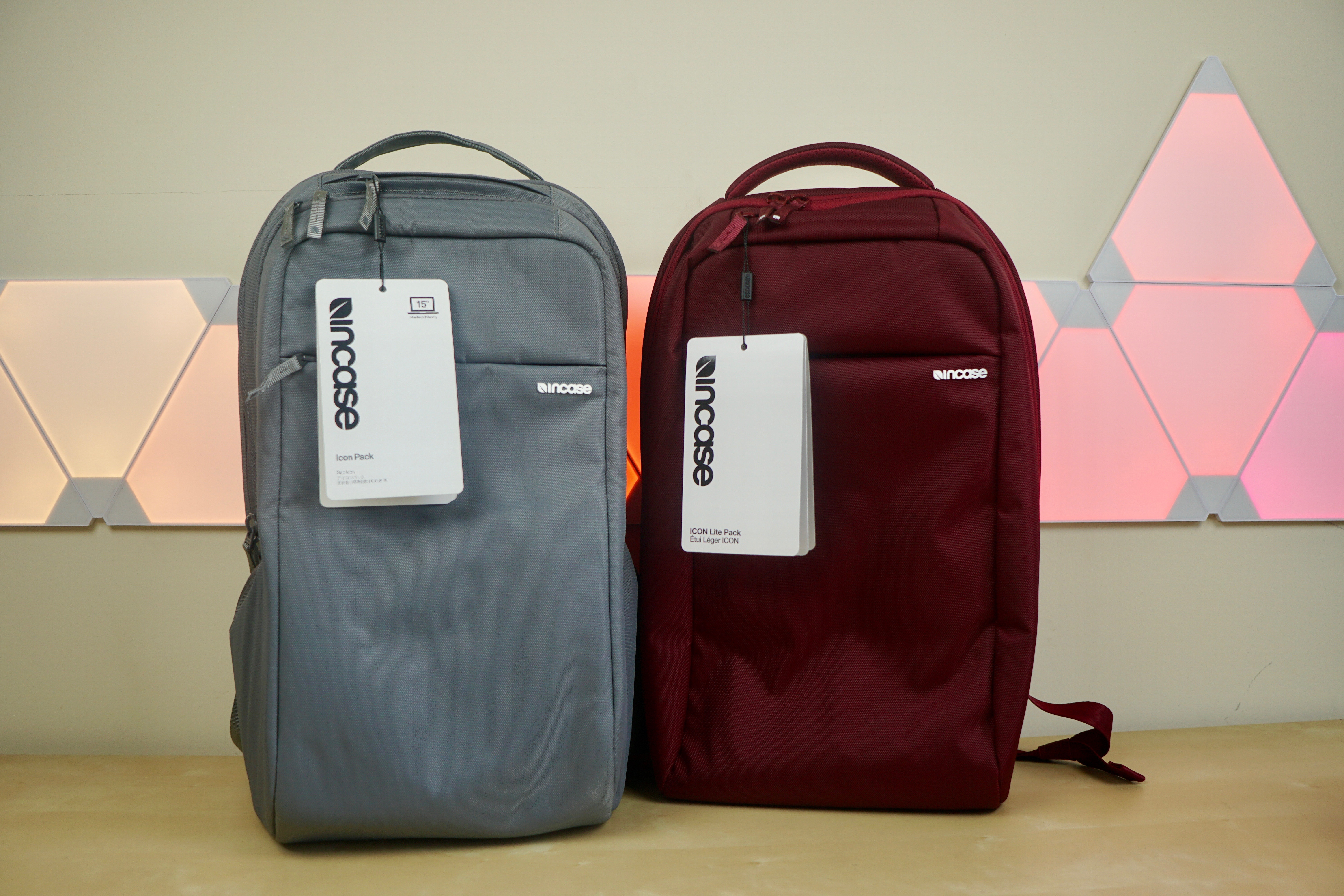 85b5639fb8 Hands-on  Incase ICON and new ICON Lite backpacks fit 15-inch ...