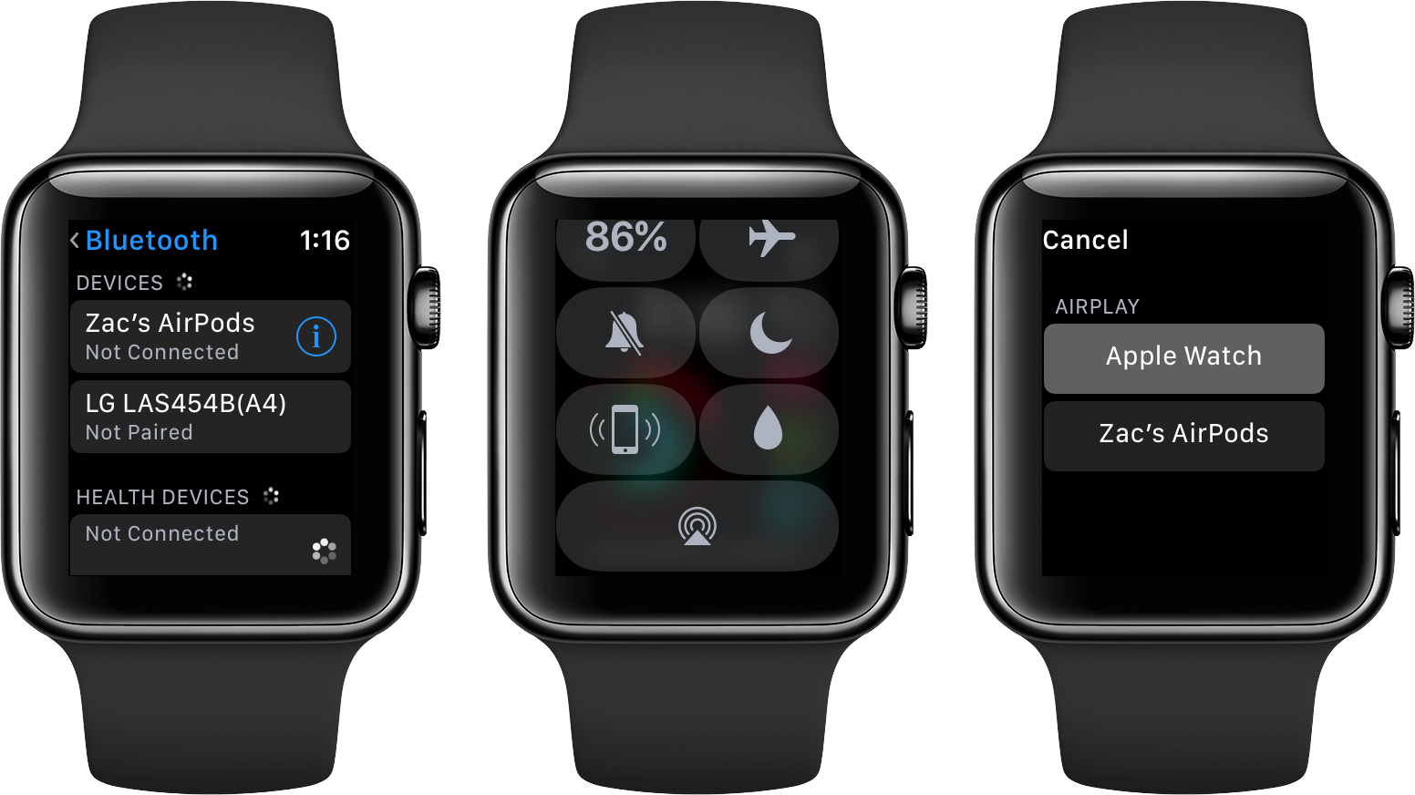 How to stream music on apple watch 3 without iphone