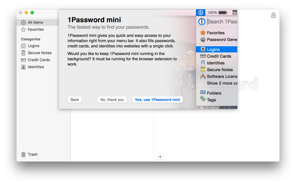 How to implement and benefit from password management