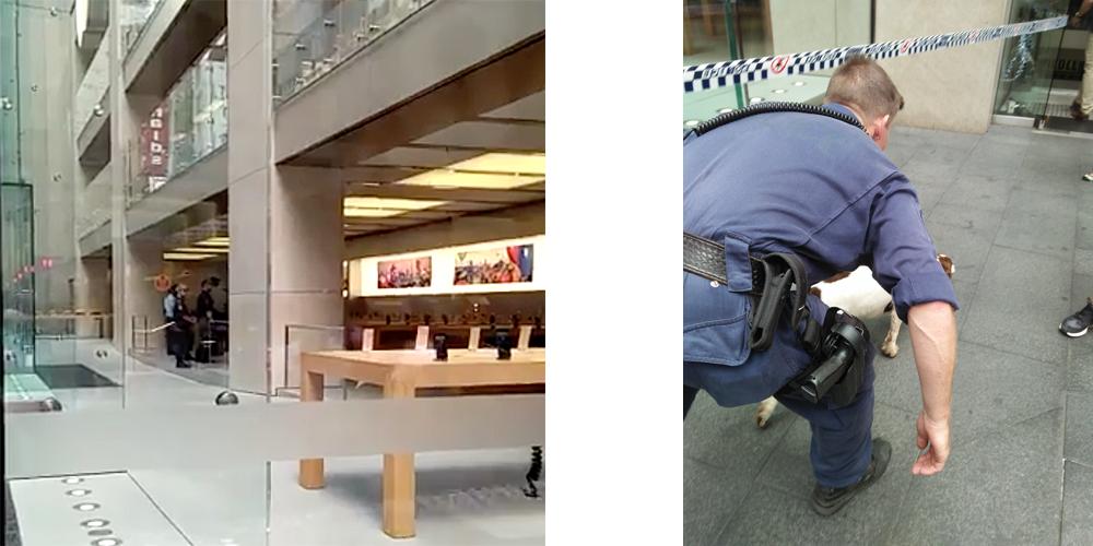 Apple Store Sydney evacuated
