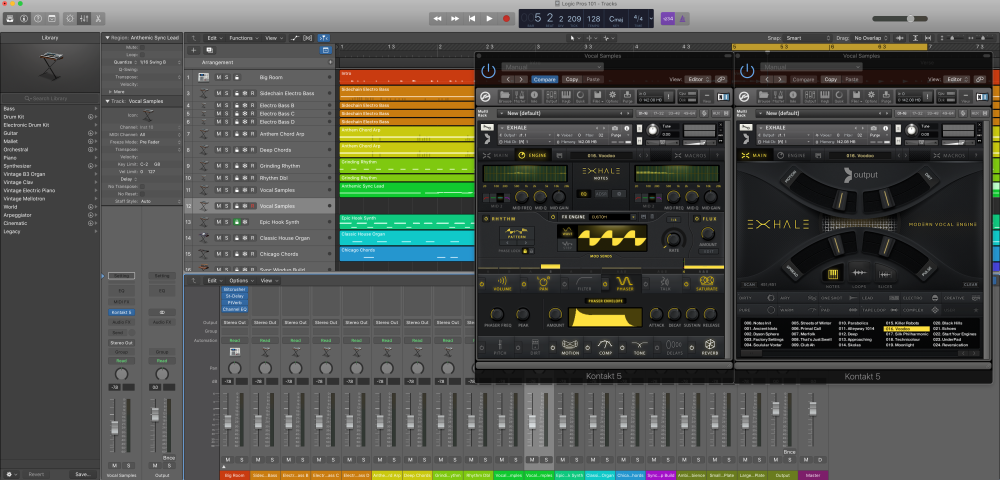 Logic Pros: Breathe some life into your tracks w/ Exhale vocal