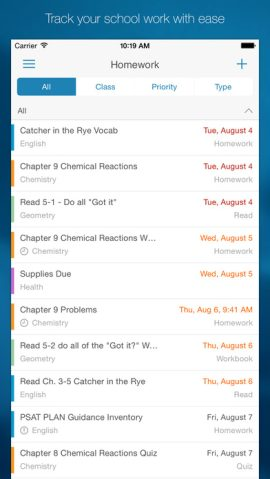 EduTech: The best iOS apps for keeping track of assignments, due