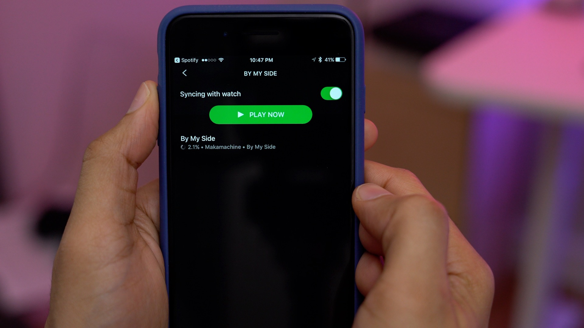 Meet Spotty, a free upcoming app that brings Spotify offline