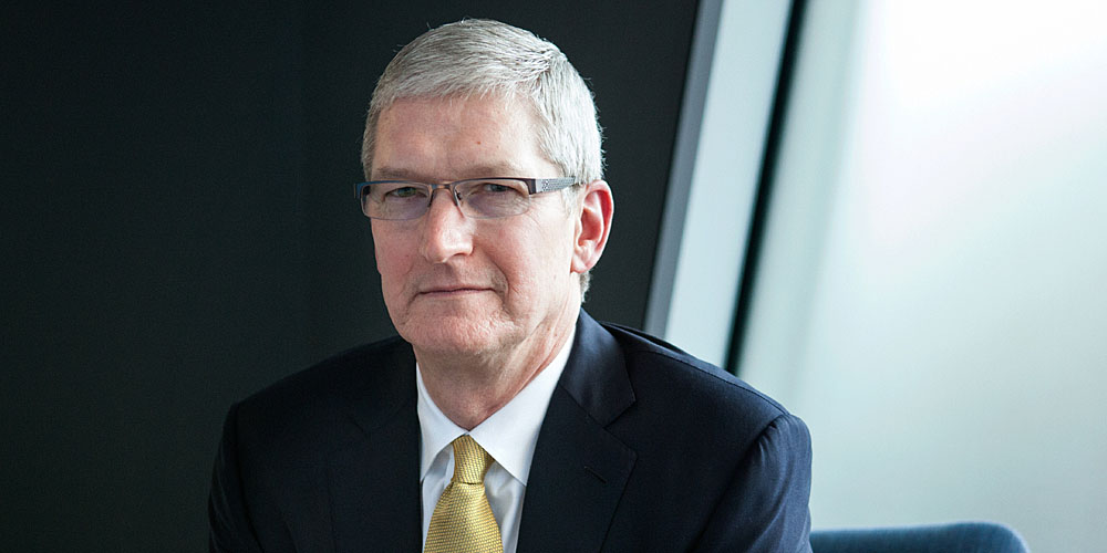 """We don't collect a lot of your data and understand every detail about your life. That's just not the business that we are in,"" Apple CEO Tim Cook said Thursda"