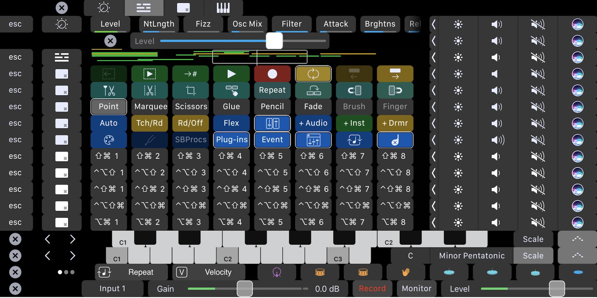 touch-bar-logic-pro-custom-keyboard-shortucts