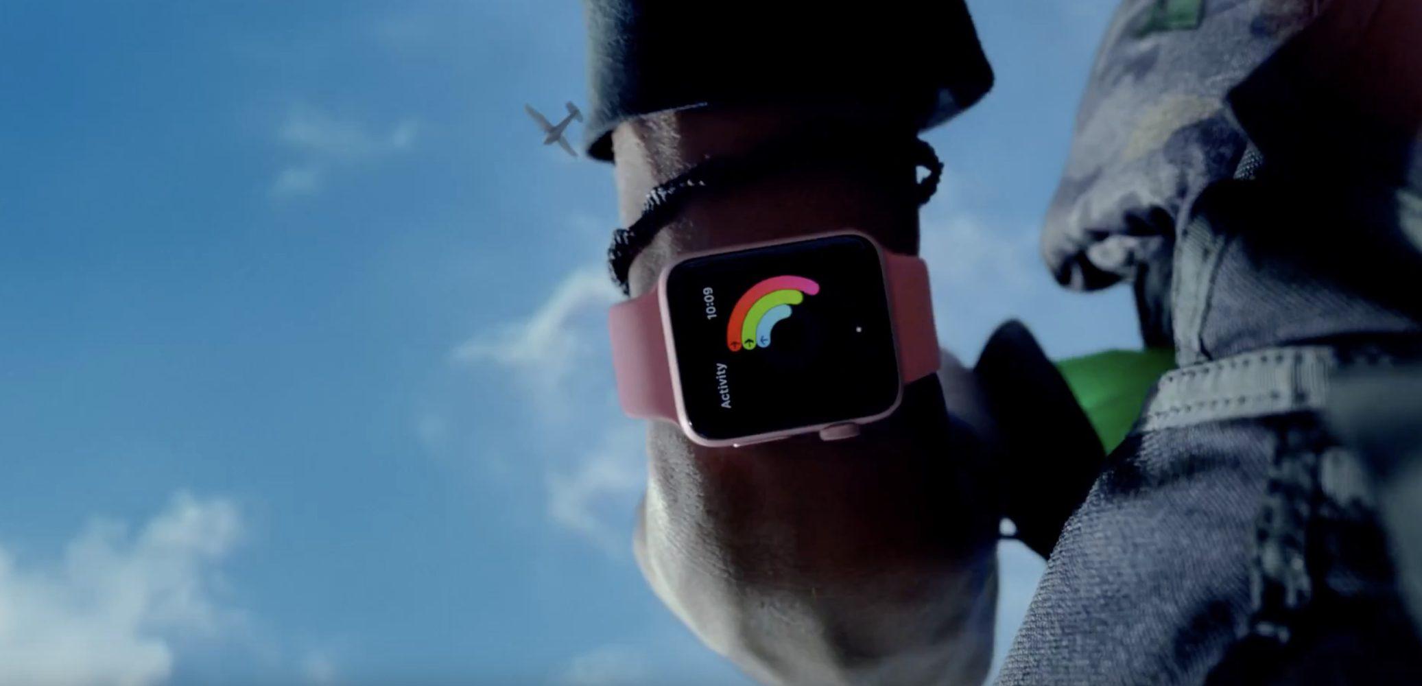 Apple Watch Live Bright ad