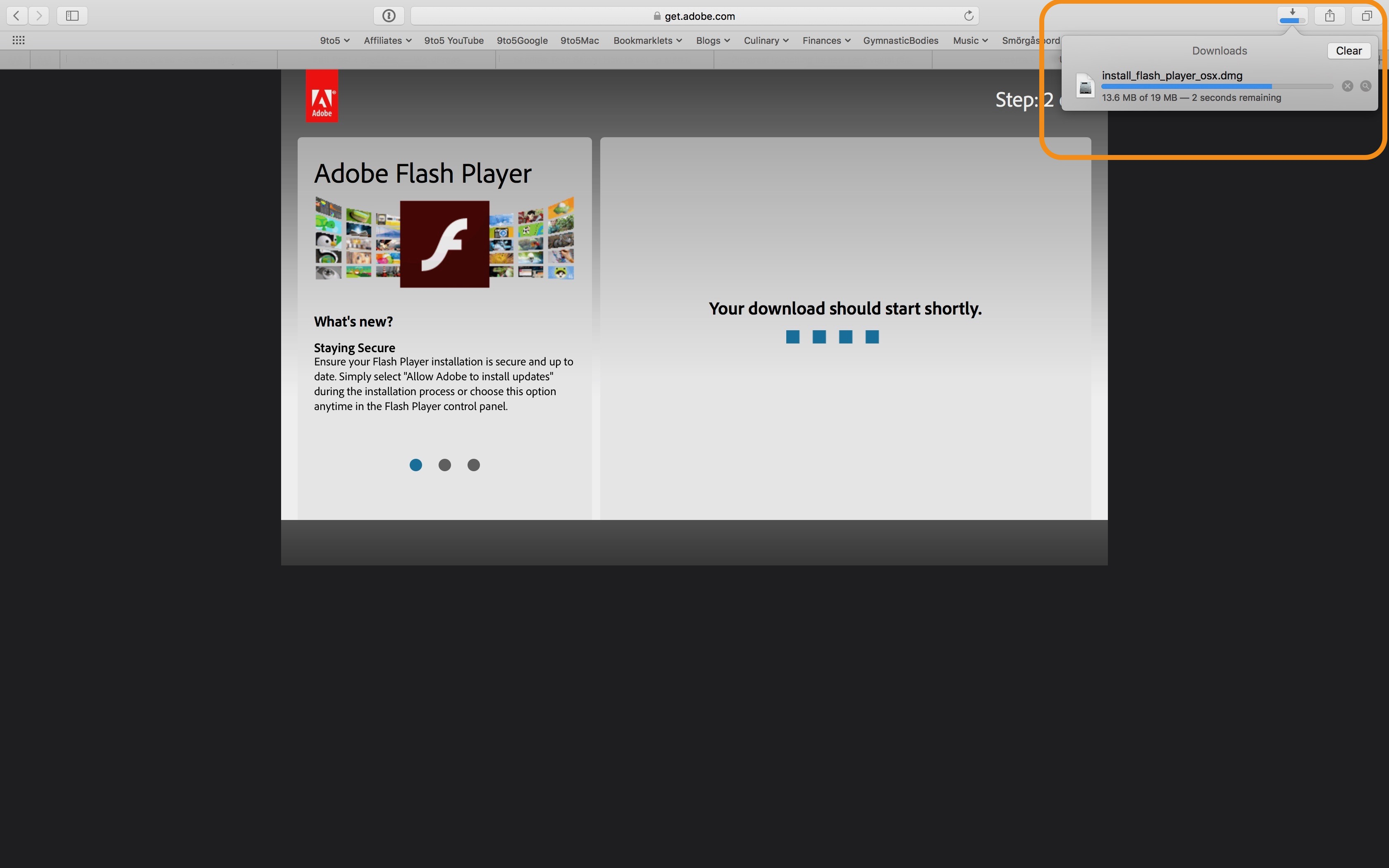 Cannot Install Newest Flash Player For Mac