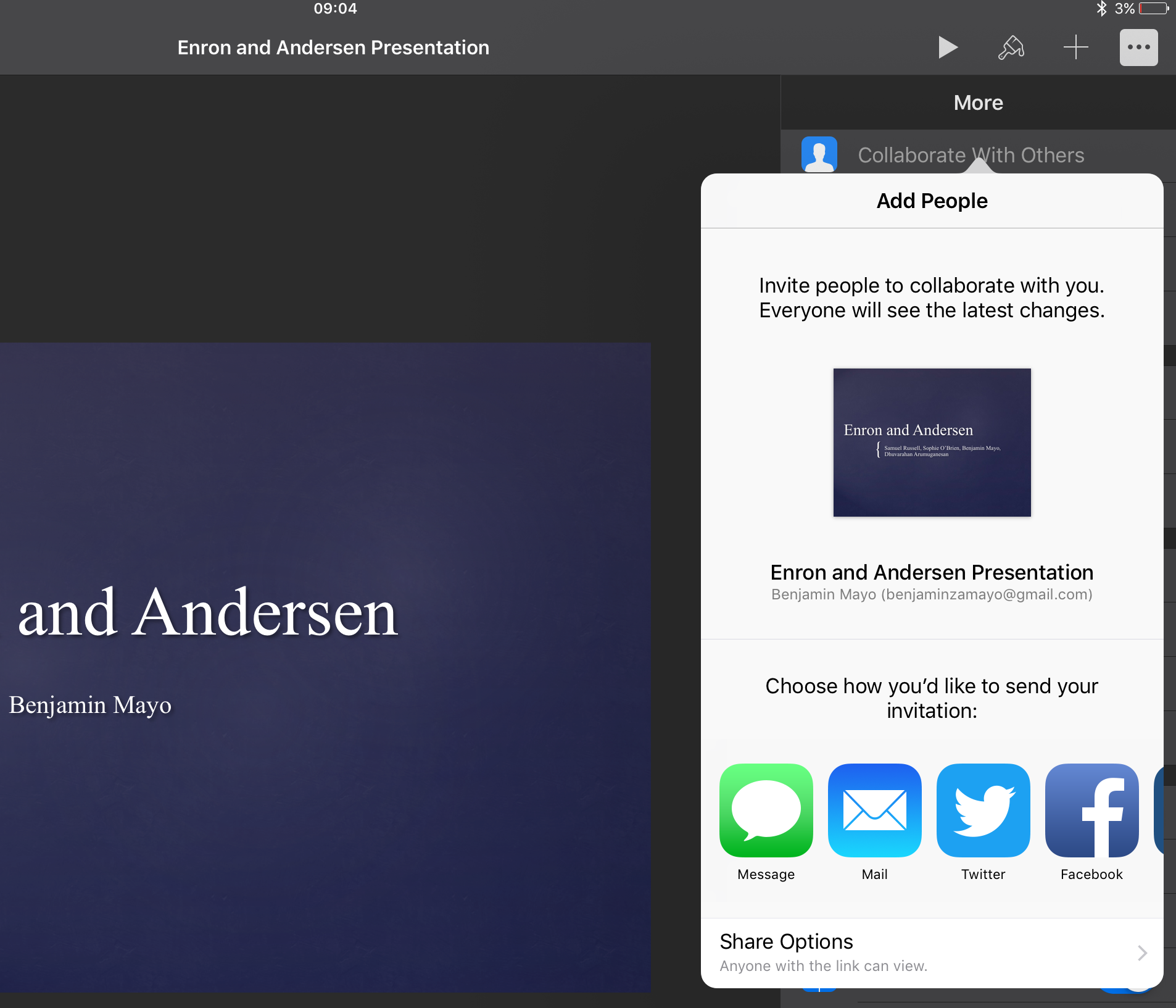 How to embed Keynote presentations in blogs and websites