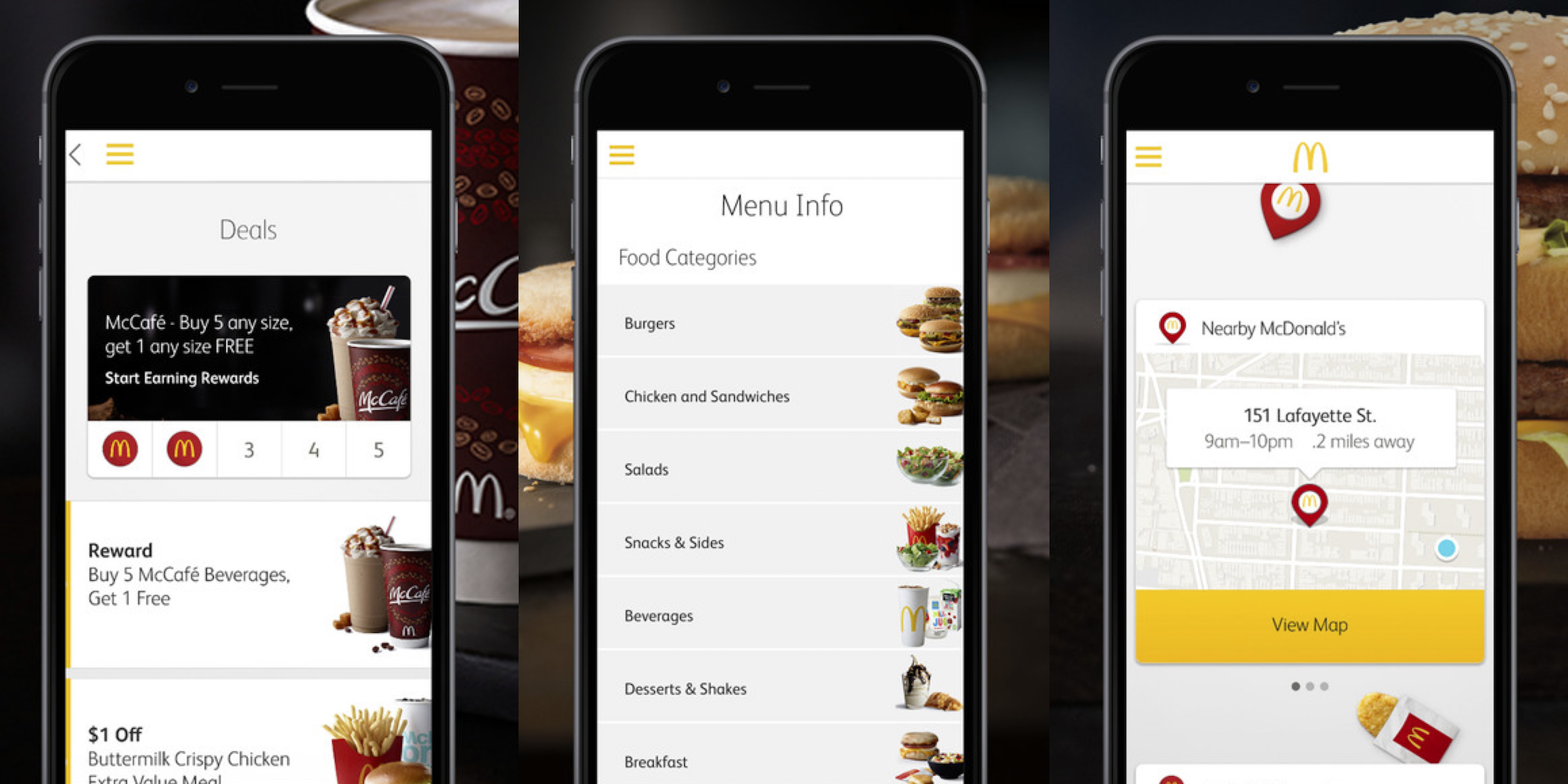 McDonald's plans mobile ordering/payment and delivery for all US ...