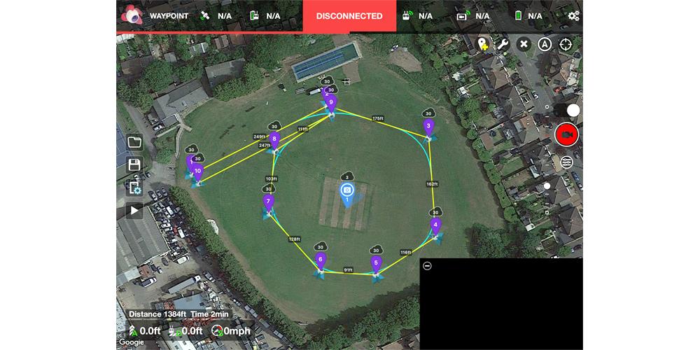 Drone Diary: The DJI Mavic Pro flies autonomously using the