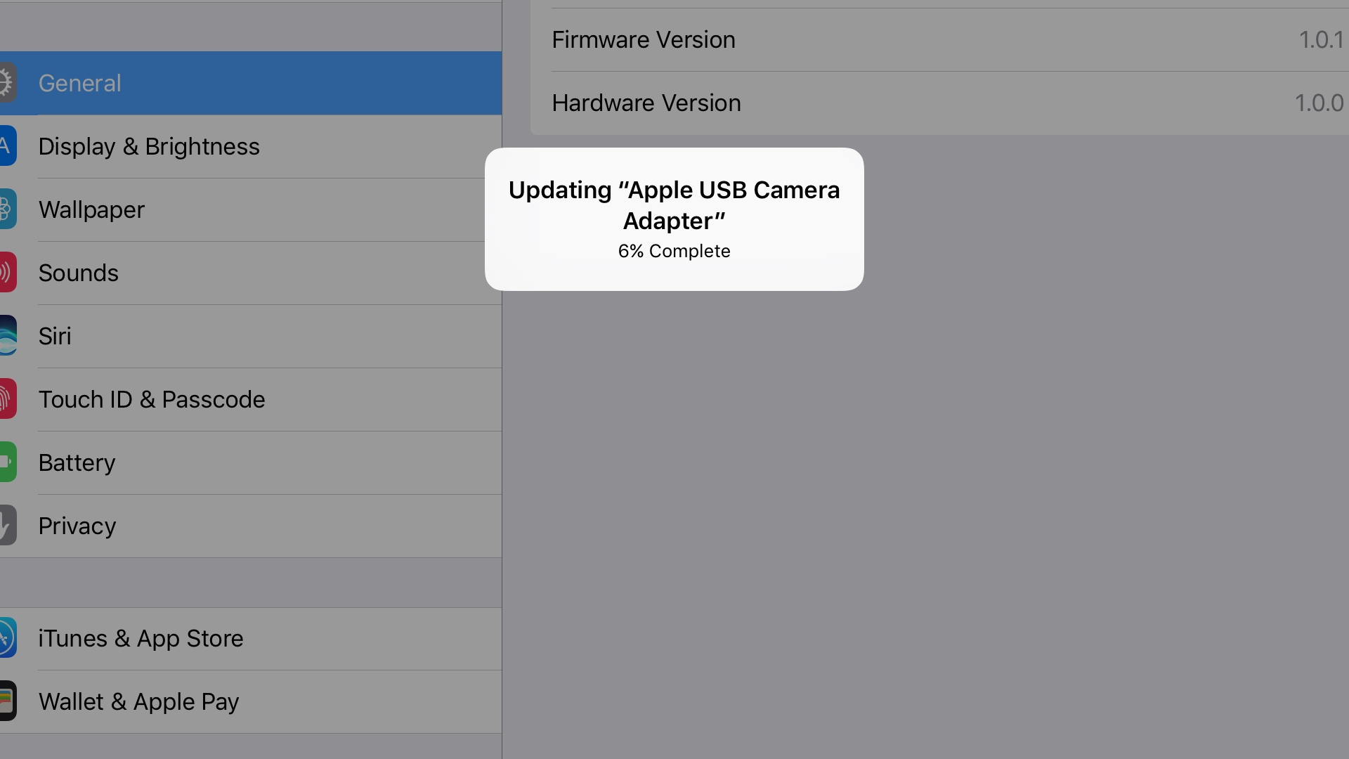 PSA: Apple's Lightning to USB 3 Camera Adapter gets a firmware
