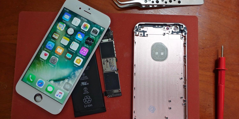 Scotty Allen's 16GB iPhone 6s DIY project
